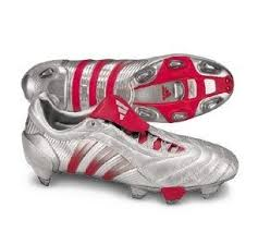 Adidas Predator Pulse SG (Silver/Red)