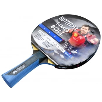 Timo Black Table Tennis Bat