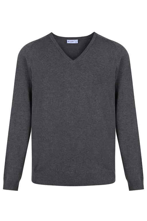 OLSC V-Neck Jumper with Badge