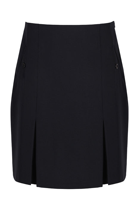 Girls Trutex Navy Two Pocket Skirt