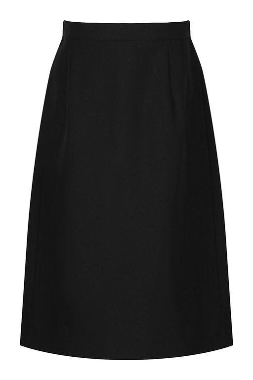 Girls Trutex Back Vent Skirt - Black