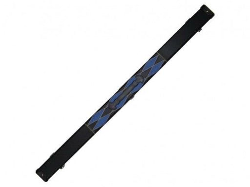 Blue & Black Diamond 3/4 Cue Case