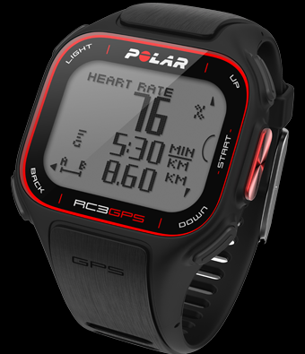 Polar RC3 - Black