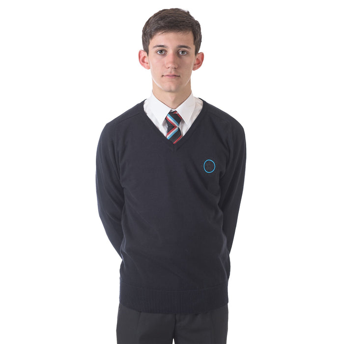 St Edmund's V Neck Jumper