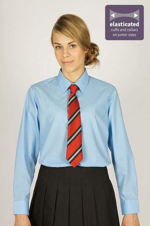 Trutex L/S Girls Blouses - Blue