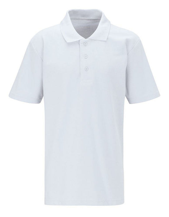 SS Peter & Paul White Polo Shirt