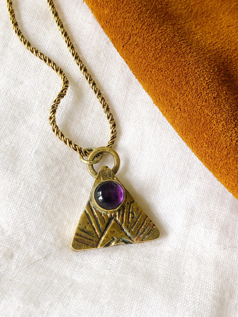 SAND ARROW NECKLACE