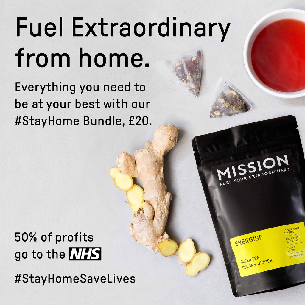 mission tea stay home bundle