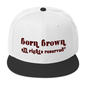 Chocolate Vintage Snapback Hat