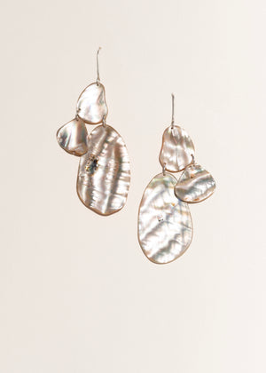 Skimming Stone Earrings