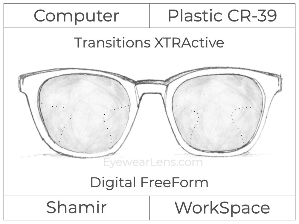 Computer Progressive - Shamir - WorkSpace - Digital FreeForm - Plastic - Transitions XTRActive