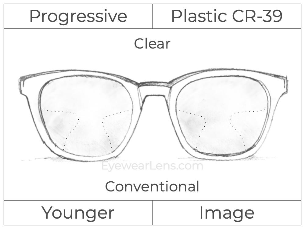 Progressive - Younger - Image - Plastic - Clear