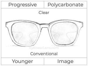 Progressive - Younger - Image - Polycarbonate - Clear