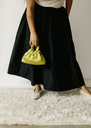 Sandy Liang Teddy Skirt | Black