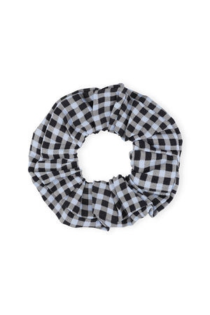 Ganni Crepe Scrunchie - Brunnera Blue