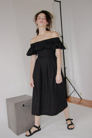 Ajaie Alaie Anda Dress Black Gastown Shopping
