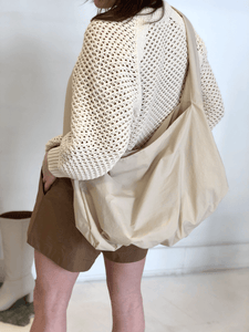Amomento Large Shoulder Bag Beige Gastown Shopping. Shop Local