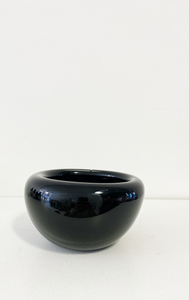 Bri Williams Black Glass Bowl