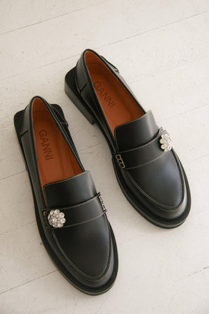 Ganni Jewel Loafer
