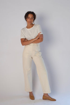 Jesse Kamm Handy Pants : Natural. New arrivals. Fall 20, Gastown Shopping.