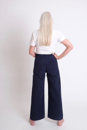 Jesse Kamm Sailor Pant : Midnight. FW20 gastown shopping