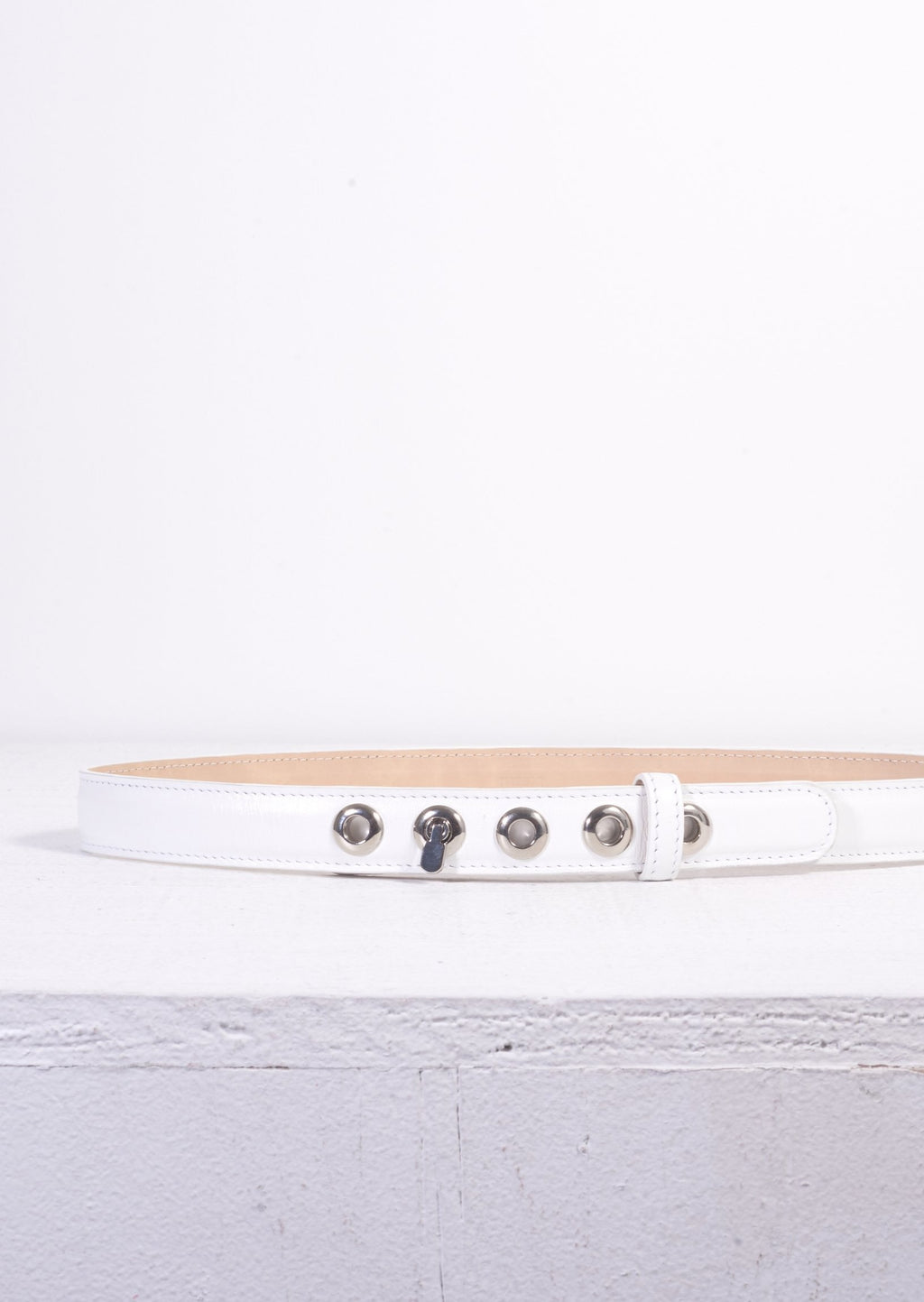 Maryam Nassir Zadeh Arlo Belt - White