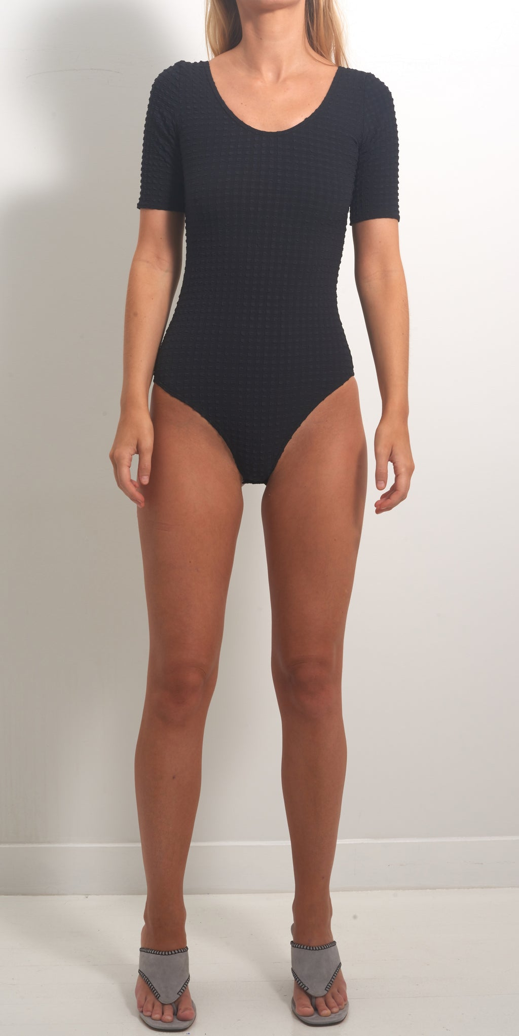 Maryam Nassir Zadeh Wave Leotard