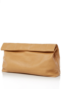 Marie Turnor Dinner Clutch - Camel