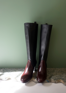 Maryam Nassir Zadeh Ivy Boot - Black. Knee high boot. FW20. Gastown Shopping.
