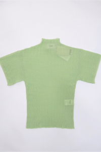 Rus Vent Mockneck Pale Green Medium