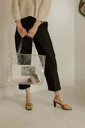 Maryam Nassir Zadeh Port Tote - Clear