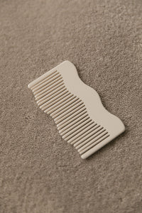 Winden Bowie Travel Comb - Cream