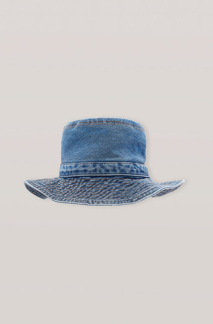 Ganni Washed Denim Hat