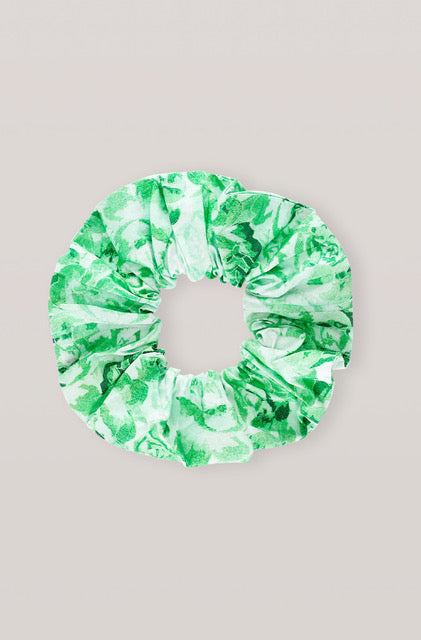 Ganni Scrunchie - Island Green