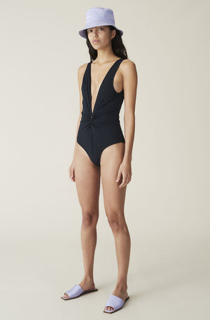 Ganni Deep V One Piece