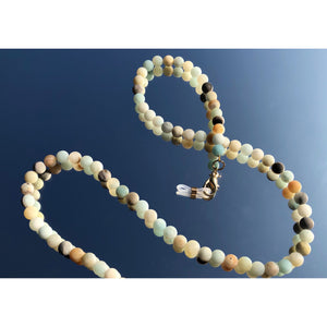 The Dewdrop Shop Pearl & Stone Mask / Sunglasses Chain