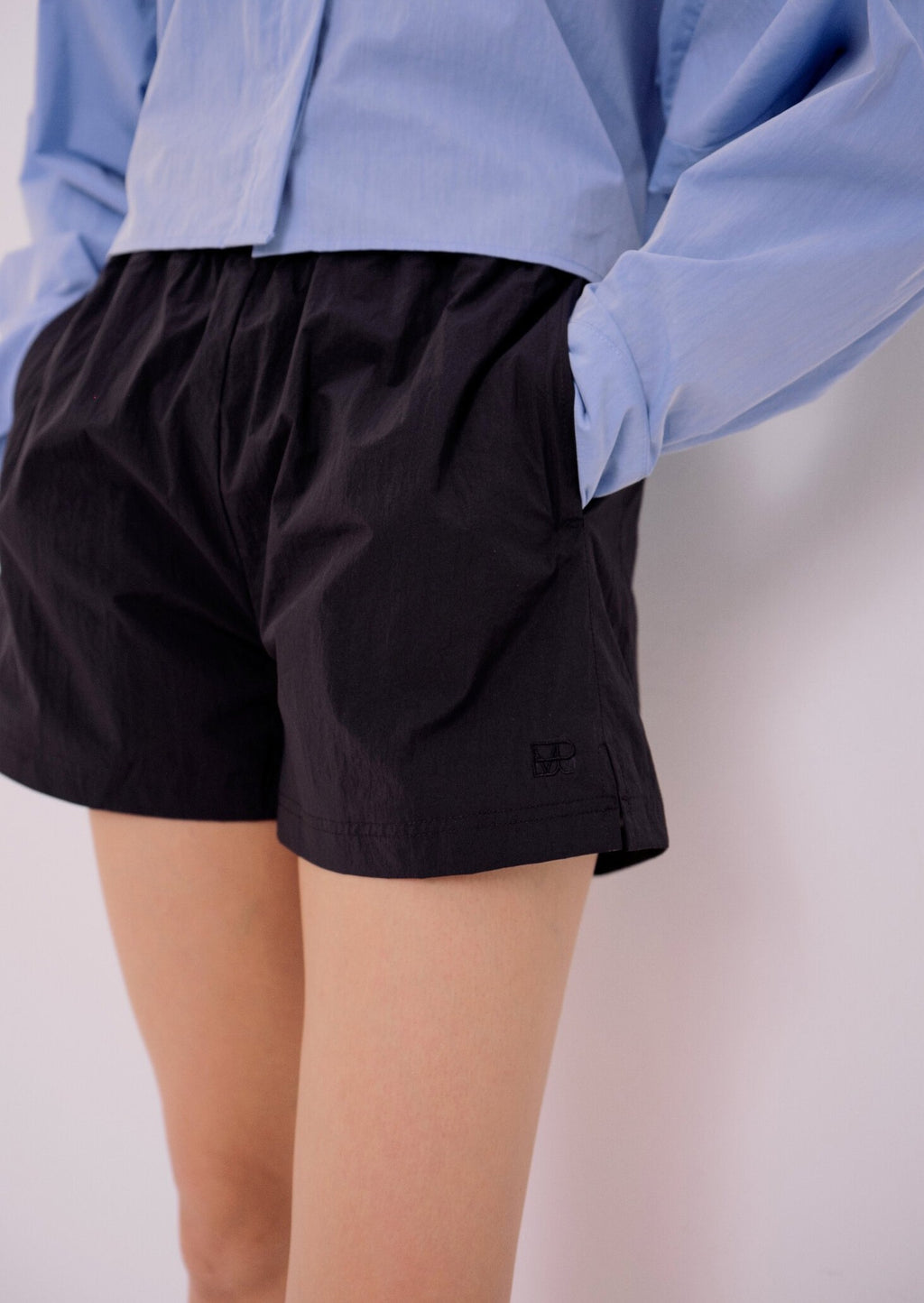 Mijeong Park Nylon Shorts | Black