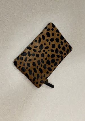 Leopard, Clare V, clutch, Leather, Calf, Clare-V-Vancouver