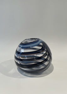 Bri Williams Blue Striped Sphere