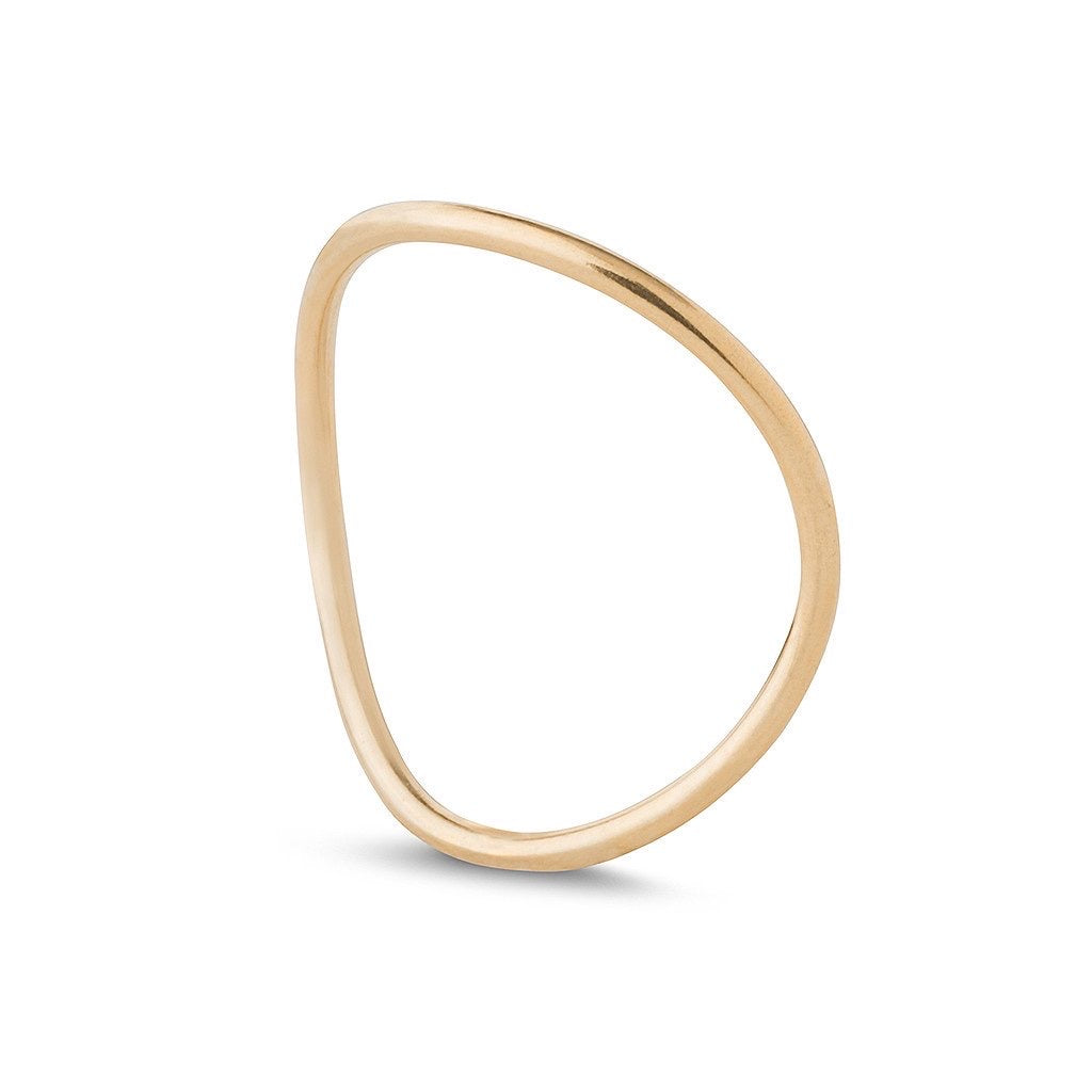 Kara Yoo Wave Stacking Ring GF