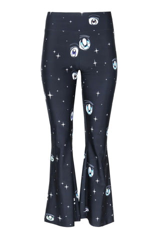 Sandy Liang Huffy Pants - Galaxy Print