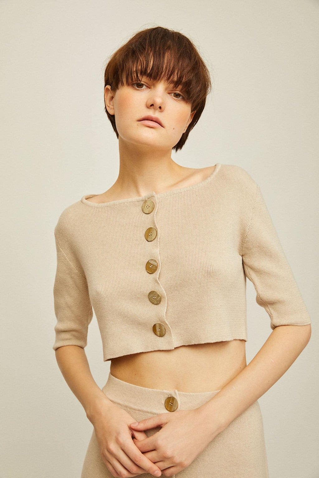 Rita Row Mafi Top - Beige