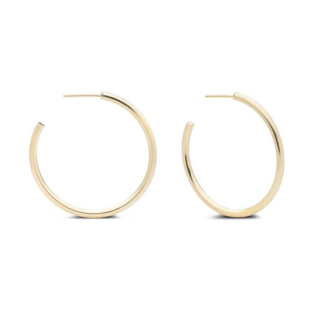 Kara Yoo Large Gold Arlo Hoops
