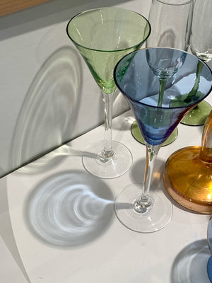 Ode Set of Four Multicoloured Glasses