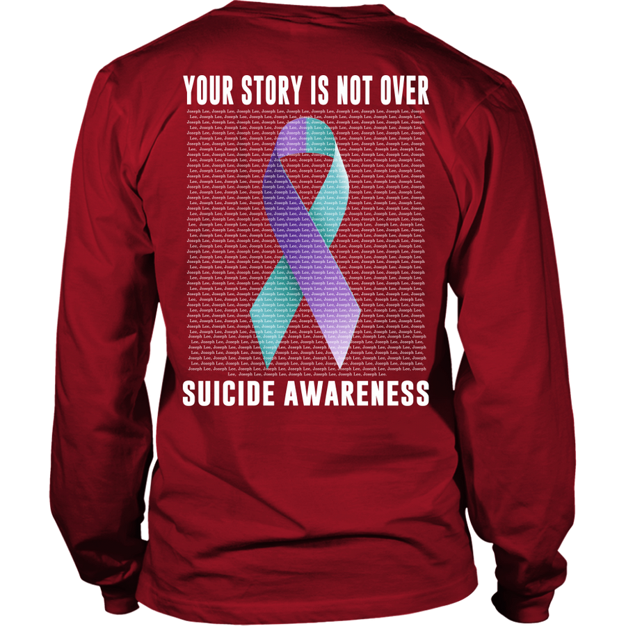 Personalized Name Suicide Awareness Hoodie Tank Top : Your Story is Not Over