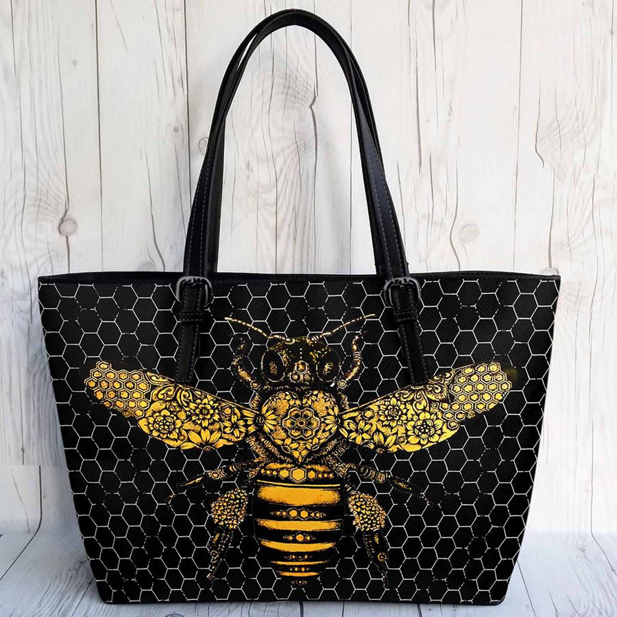 Bee Leather Bag 2