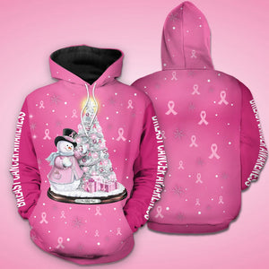 Breast Cancer Awareness Hoodie Full Print :