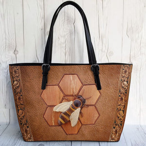 Bee Leather Bag 3