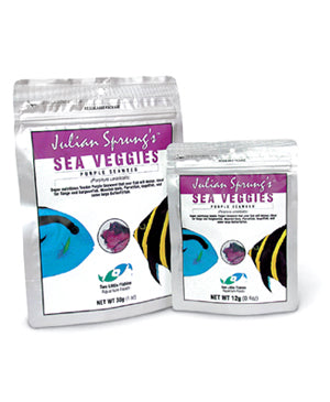 Two Little Fishies - Julian Sprung's SeaVeggies Purple 30g - Wais Aquarium