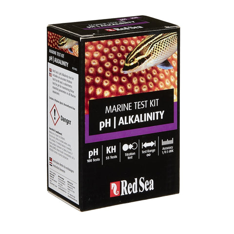 Red Sea - pH/Alkalinity Marine Test Kit - Wais Aquarium
